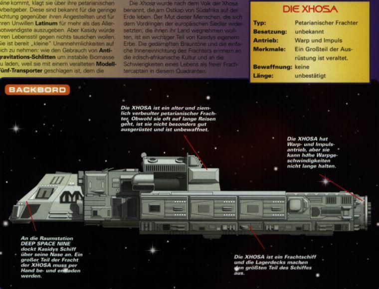 Federation Civilian Ships Database - Antares Class - S.S. Xhosa