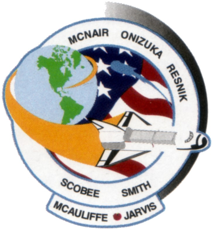 space shuttle challenger logo - photo #3